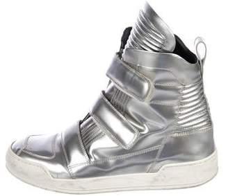 Balmain Baskets High-Top Sneakers