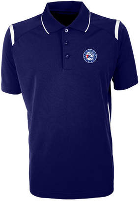Antigua Men Philadelphia 76ers Merit Polo Shirt