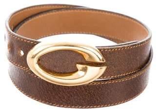 Gucci Vintage Logo Reversible Belt