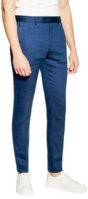 Topman Skinny Fit Premium Linen-Blend Pants