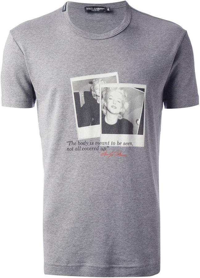 Dolce & Gabbana Marilyn Monroe t-shirt