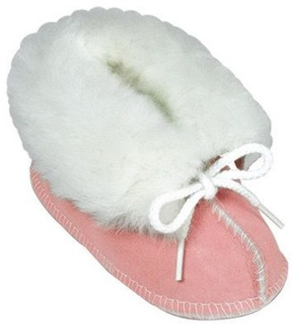Minnetonka Infant's Genuine Sheepskin Booties