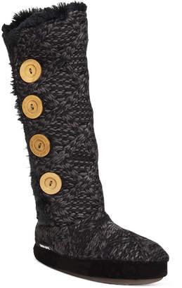 Muk Luks Malena Faux-Shearling Sweater Boots