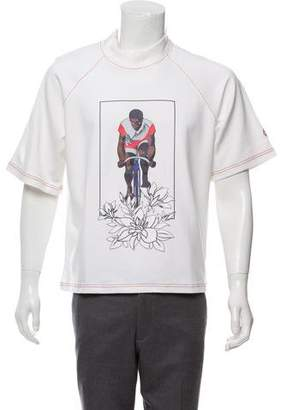 Pyer Moss Short Sleeve Graphic Sweater w/ Tags