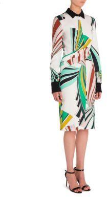 Emilio Pucci Cady Printed Dress
