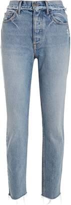GRLFRND Karolina Slim High-Rise Jeans
