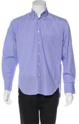 Loro Piana Patterned Button-Up Shirt