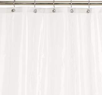 Carnation Home Fashions 10-Gauge PEVA 72 by 84-Inch Shower Curtain Liner, X-Long