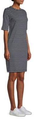 Eileen Fisher Seaside Stripe Linen Jersey Dress