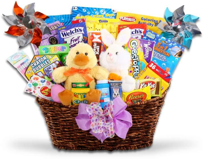 Alder Creek Gift Baskets Alder Creek Easter Eggstravaganza Candy & Bunny Gift Basket Set