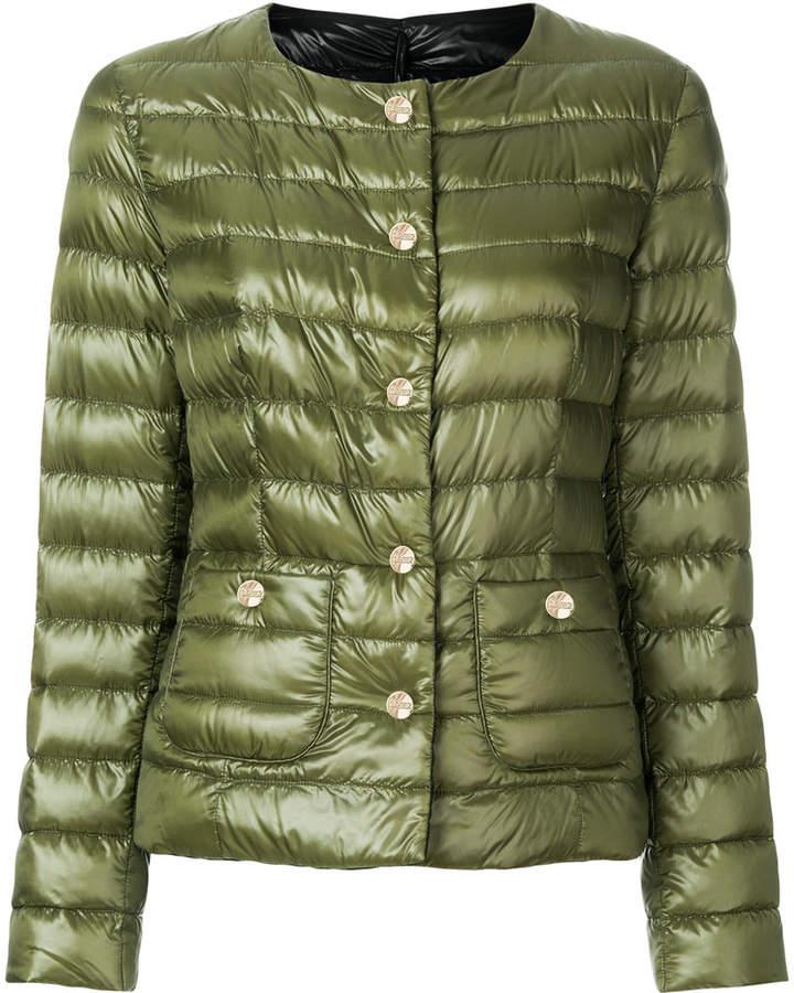 slim fit padded jacket