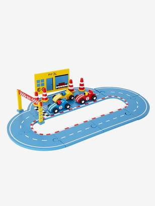 Vertbaudet Wooden Race Track with Cars and Accessories