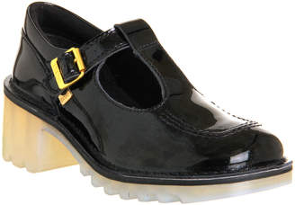 Kickers Kopey T Black Patent Leather