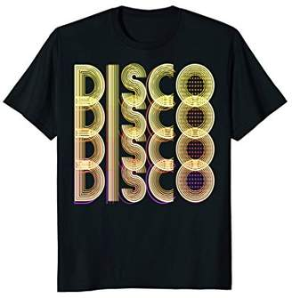 70s Disco Themed Shirt | Vintage Party Wear Outfit Tee