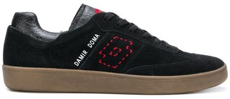 Damir Doma x LOTTO rounded toe lace-up trainers