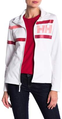Helly Hansen Logo Stripe Fleece Jacket