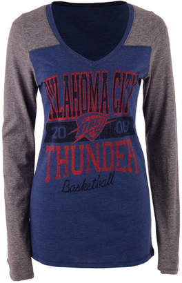 5th & Ocean Women's Oklahoma City Thunder Dunk Long-Sleeve T-Shirt