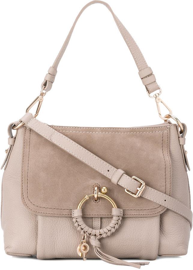 See By ChloeSee By Chloé panel tassel shoulder bag