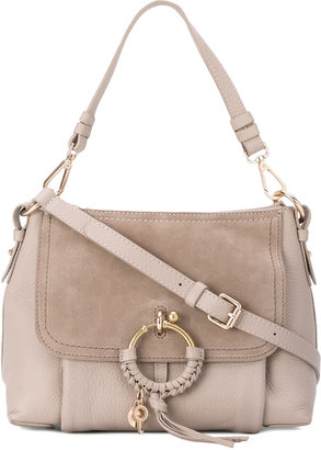 See By Chloé panel tassel shoulder bag $583.44 thestylecure.com