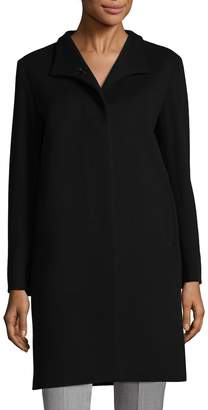 Cinzia Rocca Women's Spread Collar Wool-Blend Coat