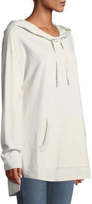 Sanctuary Essex Kangaroo Pocket Cotton Hoodie Tunic