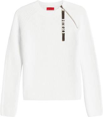 HUGO Shailey Cotton Pullover