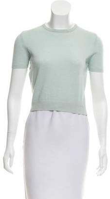 TSE Short Sleeve Cashmere Top