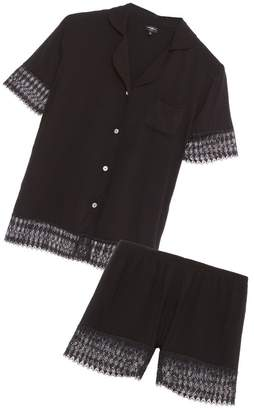 Cosabella Lunna Sleep Short Sleeve Top Boxer Set