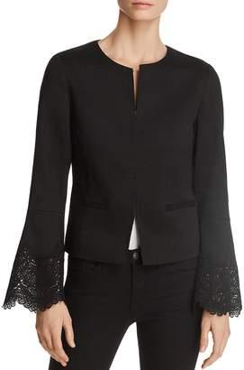 Neve Kobi Halperin Lace-Inset Jacket