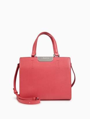 Calvin Klein saffiano leather crossbody bag