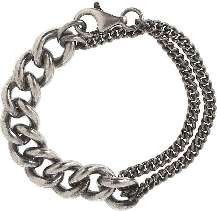 Nancy Caten Chunky silver bracelet