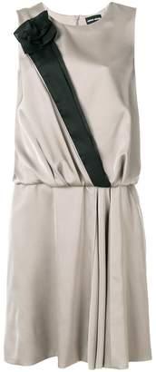 Giorgio Armani floral embellished dress