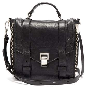 Proenza Schouler Ps1 Leather Backpack - Womens - Black
