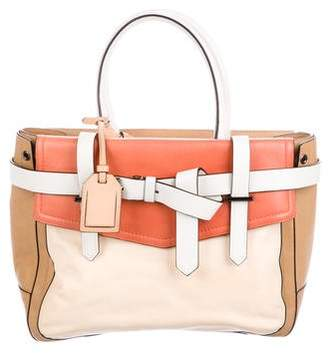 Reed Krakoff Colorblock Boxer Handle Bag