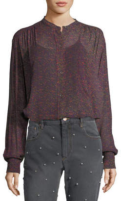 Etoile Isabel Marant Jaws Abstract-Print Blouse
