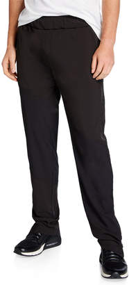 Tahari Sport Angle Contrast-Panel Leisure Pants