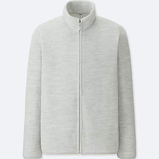 Uniqlo Men's Fleece Long-sleeve Full-zip Jacket