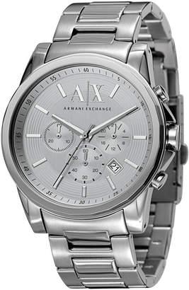Armani Exchange Men's Chronograph Stainless Steel Bracelet Watch 45mm AX2058