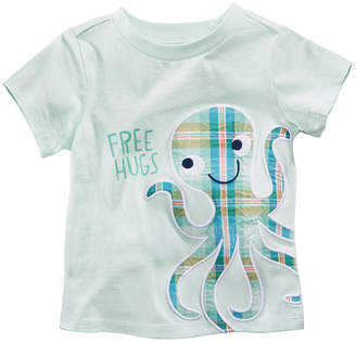 First Impressions Octopus-Print Cotton T-Shirt, Baby Boys, Created for Macy's