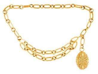 Chanel Filigree Chain Belt