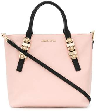 Versace antique-effect logo tote