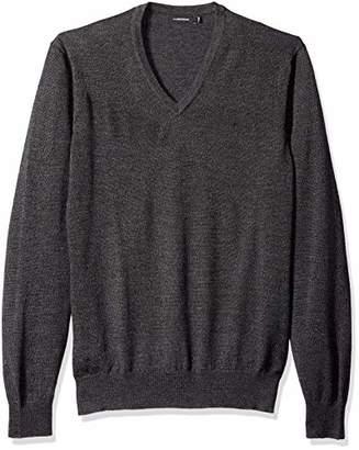 J. Lindeberg Men's Merino Wool V-Neck Sweater