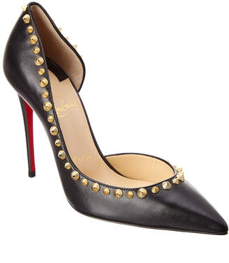 Christian Louboutin Irishell 100 Leather D'orsay Pump