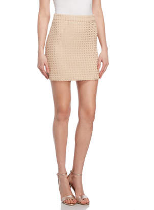 Milly Woven Tweed Modern Mini Skirt