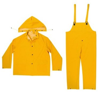 Enguard 3pc Yellow Rain Suits, XL - 2 Pack