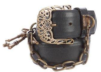 Anna SuiAnna Sui Key Embellished Belt