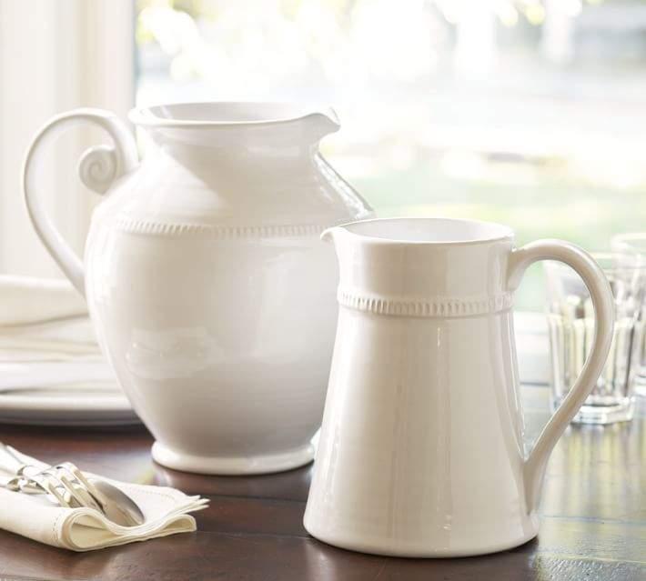 Pottery Barn Gabriella Pitchers
