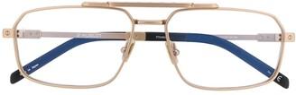 Hublot Eyewear aviator frame glasses