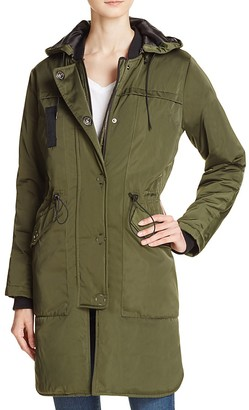 Whistles Jensen Hooded Parka $320 thestylecure.com