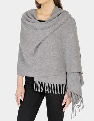 Acne Studios 70X200 Canada Scarf in Grey Melange Wool